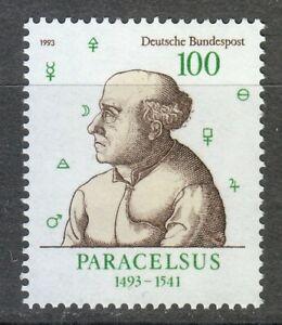 Germany 1993 MNH Mi 1704 Sc 1817 Paracelsus,Physician ** Swiss alchemist