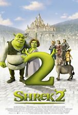 SHREK 2 MOVIE POSTER 2 Sided ORIGINAL RARE INTL 27x40 MIKE MYERS