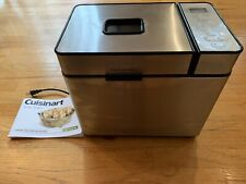 New listing Cuisinart Cbk-100 Automatic 2lbs Bread Maker Stainless Steel - Great Condition