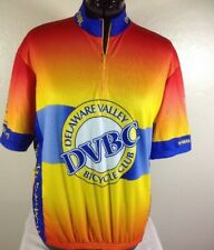 Vomax Cycling Jersey Size XL DVBC Delaware Valley Bicycle Club