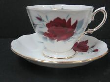 Royal Albert Sweet Romance England Teacup & Saucer Roses