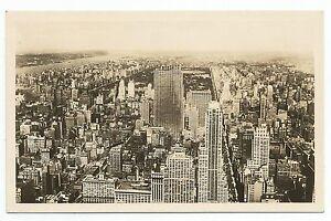 Postcard-United States-New York-Rp. North Manhattan Von Empire State Building