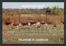 Azerbaijan 2017 MNH Nature Goitered Gazelle 1v S/S II Wild Animals Stamps
