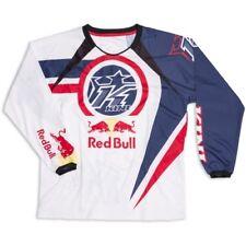 Motorradkleidung Kini Red Bull Vintage Shirt white 14 #1433 Motorrad