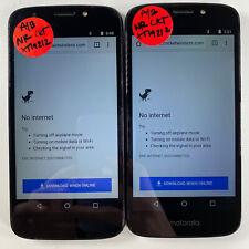 Lot of 2 Motorola Moto E5 Cruise XT9121-2 Cricket Wireless*Check IMEI*