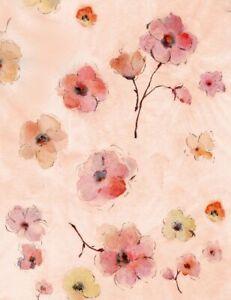 Fleur 7193, Pink Flowers on Pink, 100% Cotton Fat Quarter, Timeless Treasures