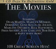THE MOVIES-108 GREAT SCREEN HI -DEAN MARTIN, DORIS DAY, MARILYN MONROE-5 CD NEW+