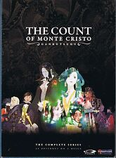 Gankutsuou: The Count of Monte Cristo (DVD, 2008, 4-Disc Set)