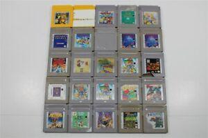 Discounted Game Boy Lot of 25 Games- Link's Awakening, Killer Instinct, Pokemon