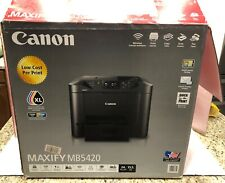 NEW Canon MAXIFY MB5420 Inkjet Multifunction Printer