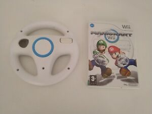 Wii Mariokart & Steering Wheel Bundle - Lot 4