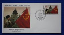 Marshall Islands (480) 1994 WWII: Siege of Leningrad Lifted Official FDC