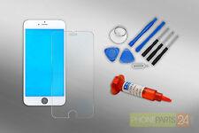 Iphone 6s Écran LCD Cadre en Verre Kit de Réparation + Loca + Film Blindé Blanc