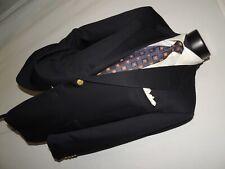 Hickey Freeman Nordstrom Men's wool & cashmere Blue blazer 42 S