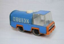Vintage Collectible Russian USSR Tin Toy Milk Truck MOLOKO Milkman Truck Soviet