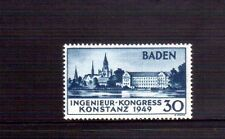 GERMANY Baden 1949 Engineer Conf MUH