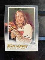 2020 Topps Allen & Ginter Chrome #246 Mike Clevinger Cleveland Indians