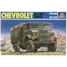CHEVROLET 15-cwt Camion Tactique Militaire-Camion M 1:35 Italeri 0233 plastique modèle
