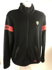 PUMA Scuderia Ferrari Sweat Jacket Zip Up Men's Medium