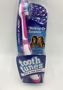 """Tooth Tunes Battery Powered Toothbrush - Aly & AJ """"Walking on Sunshine"""" #H"""
