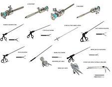 Laparoscopy SET 4 TROCAR MARRYLAND SCISSOR 2 GRASPER BIPOLAR APPLICATOR SUCTION