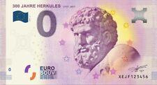 10 x Null (0) Euro Souvenir-Geldschein Herkules (10 Scheine im Paket)