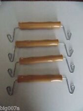 4 Light Duty Carrier Handles for Rabbit, Quail, Small Animal Cage