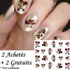 ❤️NOUVEAU DISNEY STICKERS MINNIE MOUSE BIJOUX ONGLES NAIL ART MANUCURE