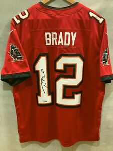 Tom Brady Auto signed Tampa Bay Buccaneers Authentic Nike Jersey, Fanatics