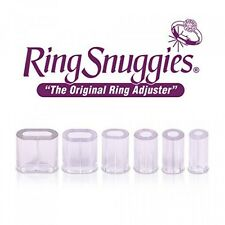 Ring Snuggies Ring Sizer or Assorted Sizes Adjuster Set, Pack of 6