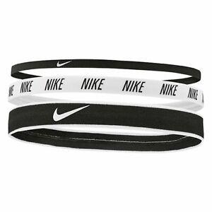 Nike Active headbands headband hair sports Mixed width bandas 3 in pack new