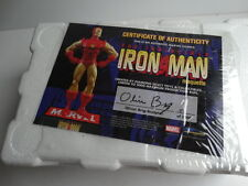 Marvel The Invincible Iron Man Maquette Statue Diamond Select Comic Book Figure