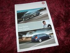 Catalogue /  Brochure VAUXHALL Vectra & Signum (idem Opel)  2006 //
