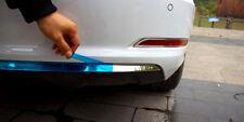 Sedan 13-18 For Audi A3 8V Silver Accessories Rear Bumper Bottom Cover Trim 1pcs