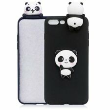 3D Cute Cartoon Silicone Soft TPU Rubber Case Cover For iPhone X 8 Plus 7 6 5 SE