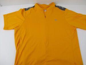 Pearl Izumi Men's Select Series Neon Orange 1/4 Zip Cycling Jersey  Sz XL A15