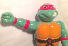 MAD VINTAGE NINJA TURTLES RAPHAEL HUGE CERAMIC FIGURE AUSSIE PLASTER FUN HOUSE?