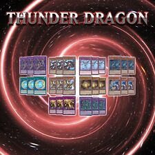 THUNDER DRAGON DECK CORE | 30 Cards | SOFU YuGiOh COLOSSUS TITAN