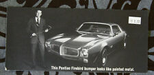 PONTIAC ENDURA bumper FIREBIRD dealer brochure - English - Canadian Market -1117