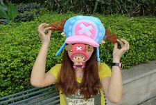 New Anime One Piece Tony Tony Chopper Cosplay Plush Costume Hat Cap