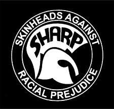SHARP Patch / Aufnäher NEU Skinhead Oi Oi! Punk Punkrock Working Class Spirit 69