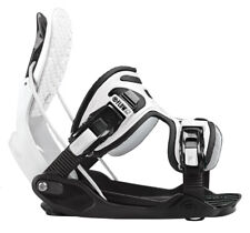 2020 FLOW Alpha White Stormtrooper Snowboard Bindings UPDATED Large NEW