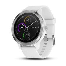 Garmin Vivoactive 3  GPS Smartwatch White/Stainless