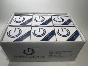 Green Creative 58115 Titanium LED CRI Series Dimmable 75 Watt Bulbs 6ct