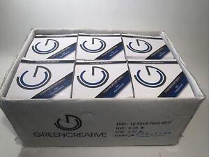 Green Creative 58115 Titanium LED CRI Series Dimmable 75 Watt Bulbs 6ct