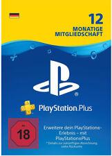 PlayStation Plus 365 Tage [DE Store] PSN Key PSP PS4 Live Network Code 1 Jahr
