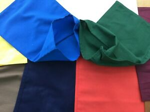 Heavy Duty Cash Deposit Bags For Money Bank Coin Retail Taxi Cotton Cloth Bag