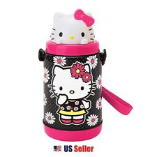 Sanrio Hello Kitty Pop-Up Straw Water Bottle : Daisy