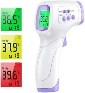 Termometro Digitale Laser a infrarossi, Misuratore di Temperatura per persone