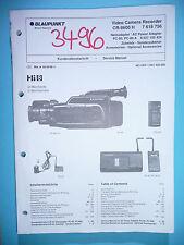MANUAL DE Manual de servicio para Blaupunkt cr-8600, original